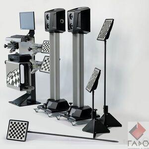 Мобильный стенд сход-развал 3D для грузовых автомобилей 7204 HT MC
