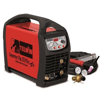 Сварочный аппарат TELWIN SUPERIOR TIG 251 DC-HFLIFT VRD 400V+ACC