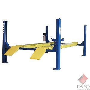Подъемник четырехстоечный для сход-развала 4.5 тонны F4.5D-4 AE&T