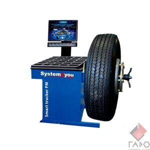 Балансировочный станок грузовой Smart Trucker PM