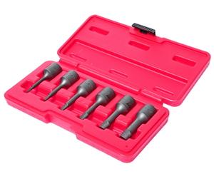 Набор экстракторов 2-10 мм в кейсе 6 предметов JTC-1542