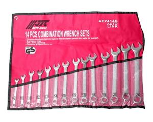Набор ключей комбинированных 8-24мм 14 предметов в сумке JTC