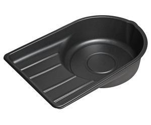 Емкость для слива масла 24л пластиковая (ванна) JTC-AM46