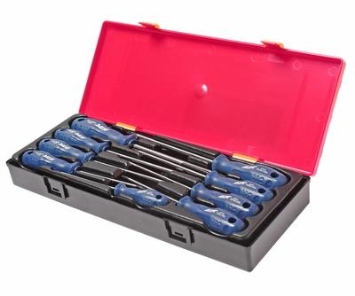 Набор отверток TORX TS8H-TS40H с отверстием (в кейсе) 9 предметов JTC-K7093