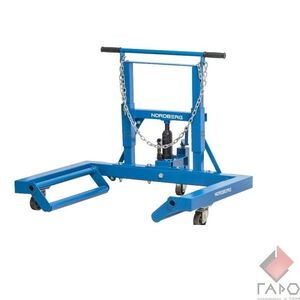 Тележка гидравлическая для снятия и установки колёс г/п 680 кг N31007