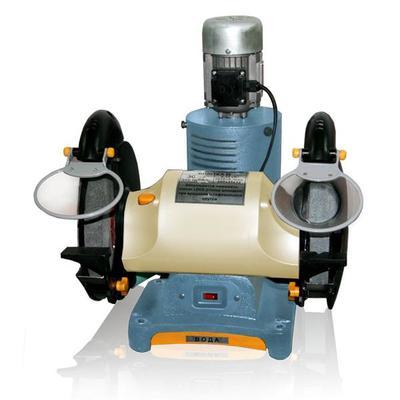 Заточной станк со встроенной вытяжкой и фильтрацией абразивной пыли ЗСВ-25
